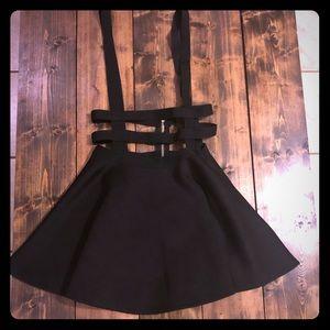 Dresses & Skirts - Skater skirt with suspenders